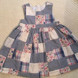 Gap patchwork dress